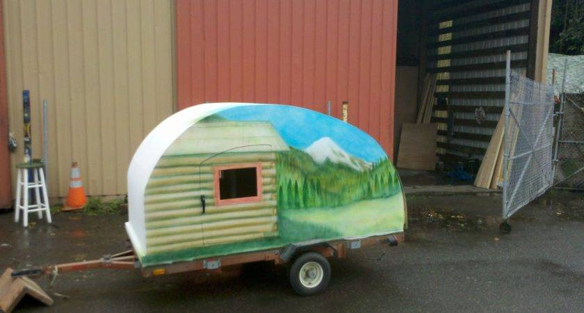 Learn Built Teardrop Trailer Make Jason