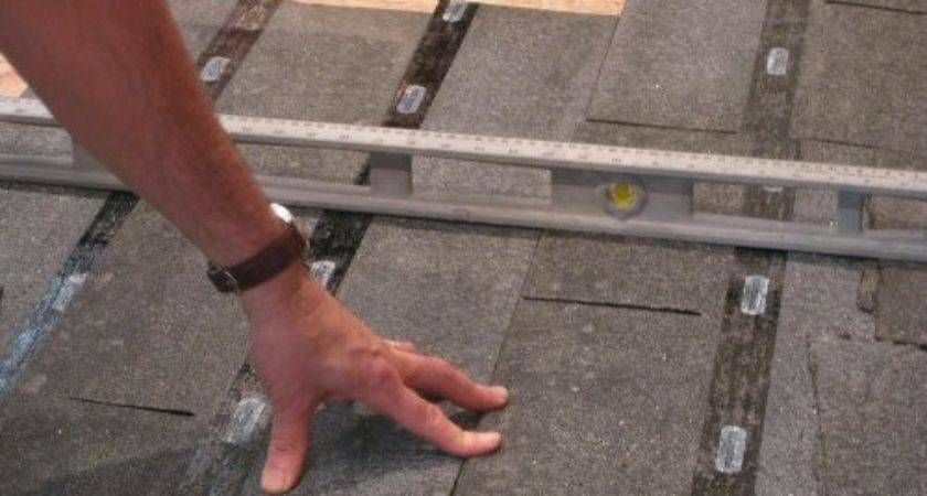 Level Plywood Osb Subfloor Using Asphalt