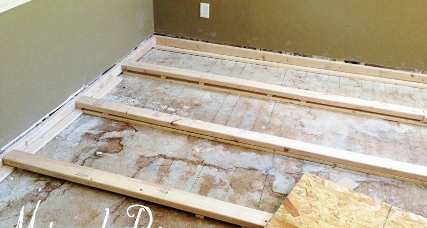 Leveling Uneven Floor Laminate