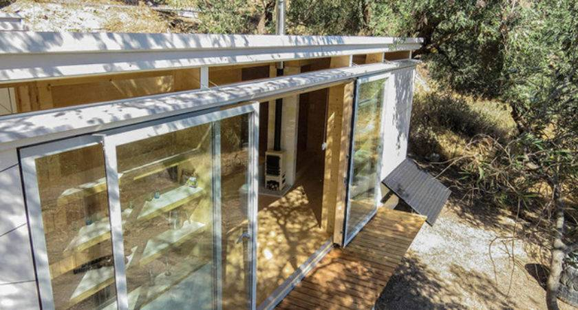 Light Filled Off Grid Tiny Home Wheels Built Yoga