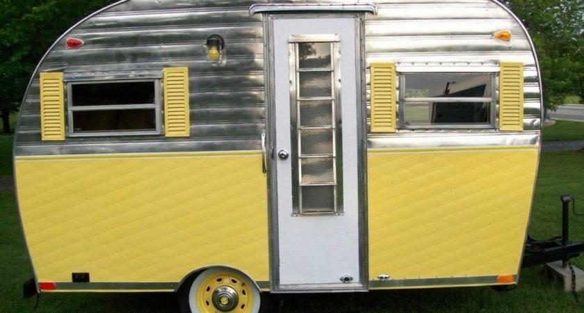 Little Vintage Camper Trailer Makeover Vanchitecture