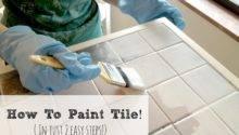 Livelovediy Paint Tile Countertops