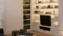 Living Room Built Storage Housetohome