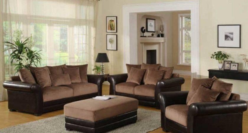 Living Room Ideas Brown Sofa Beige Rugs