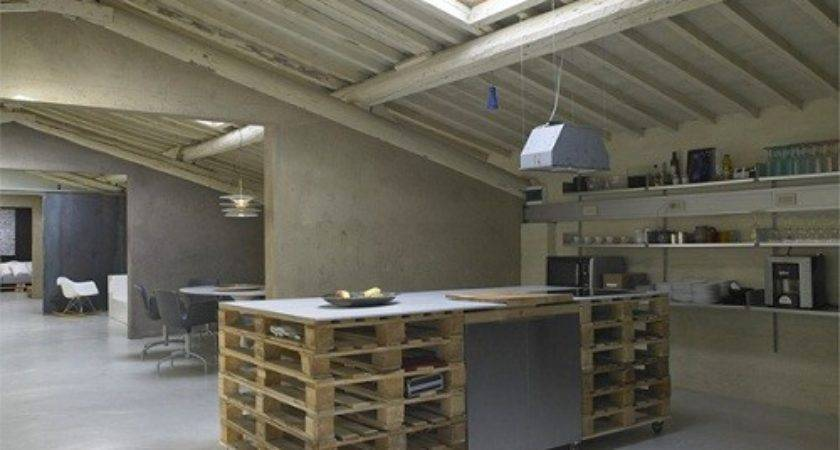 Loft Con Tanti Pallet Interior Break