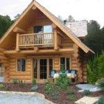 Log Cabin Double Wide Mobile Homes Designs Style House