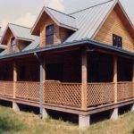 Log Cabin Floor Plans Wrap Around Porch