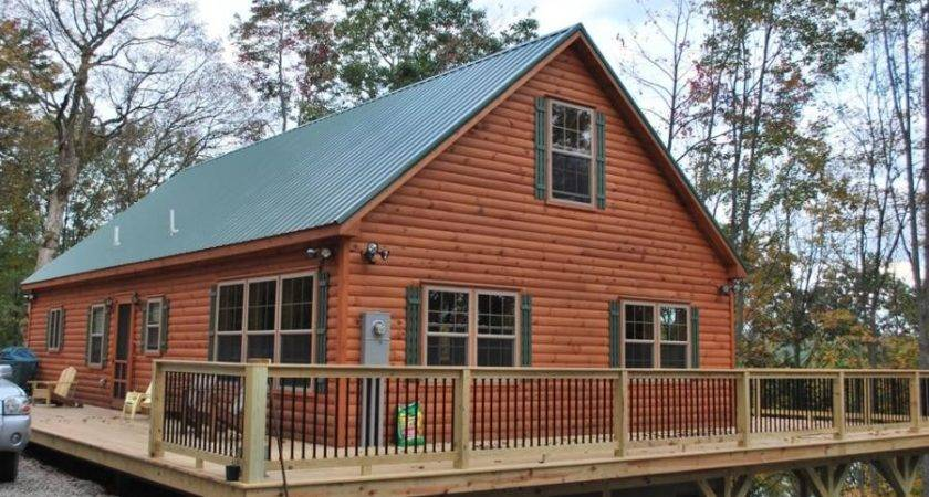 Log Cabin Siding Lowes Cabins Spruce