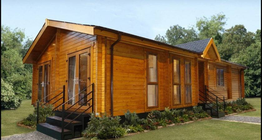 Log Home Style Mobile Homes Contemporarylogliving Kelsey