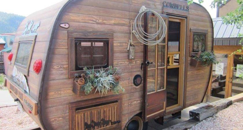 Love Faux Wood Siding Rvs Camper Remodeled