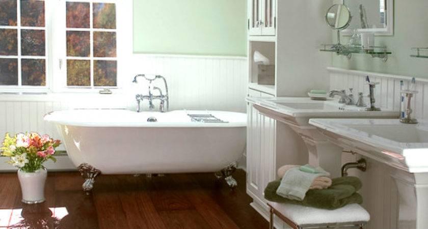Love Wood Floors Bathrooms Home Pinterest