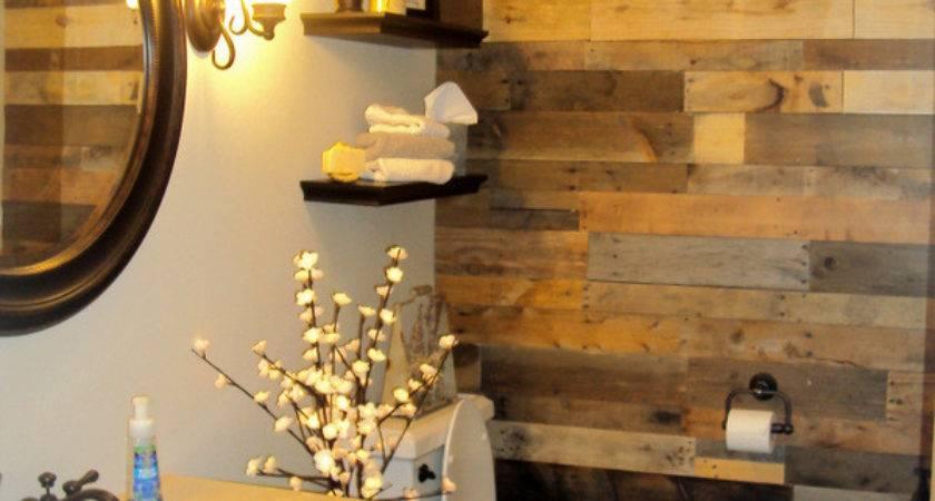 Lovely Bathroom Accent Wall Design Ideas Decozilla