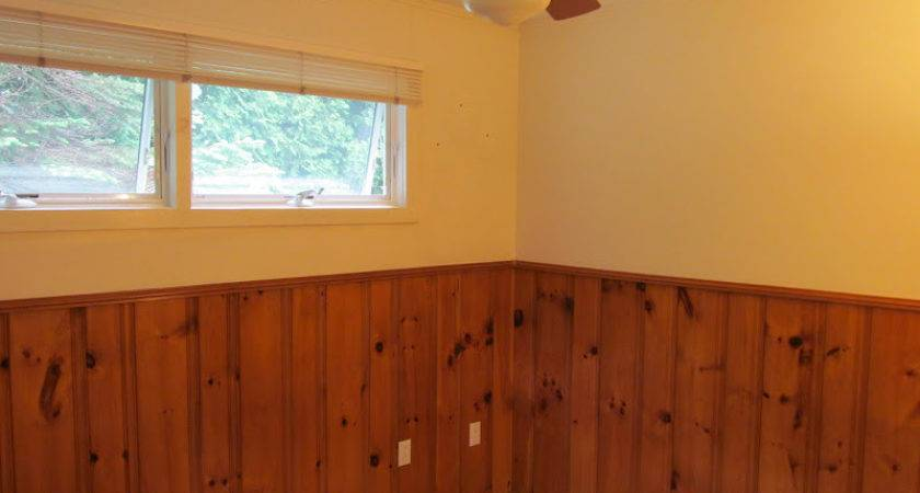 Lovely Beasts Guest Room Makeover Painted Wood Paneling