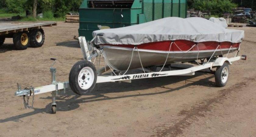Lund Aluminum Boat Spartan Roller Trailer