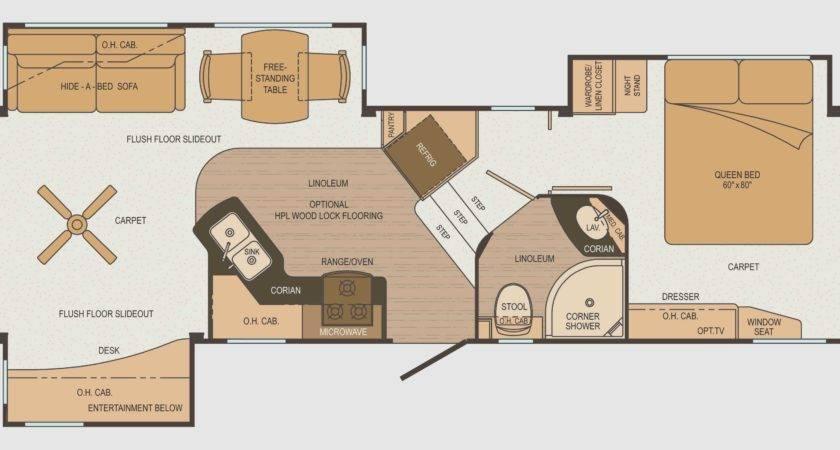 Luxury Cargo Trailer Camper Conversion Floor Plans