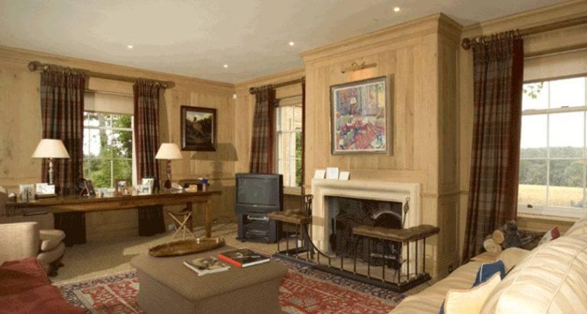 Luxury Country House Design Bookmark