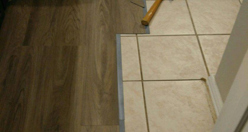 Luxury Laying Vinyl Flooring Over Ceramic Tiles