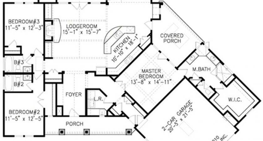 Luxury Ranch Home Floor Plans Pic Awesome House