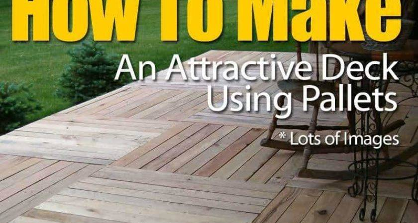 Make Attractive Deck Pallets