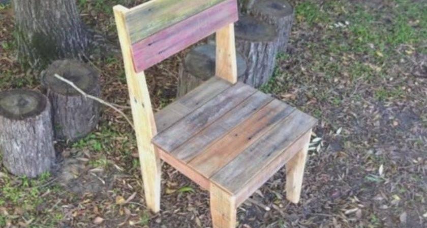 Make Chairs Out Pallets Onejive Comonejive