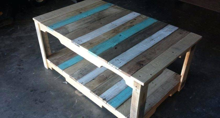 Make Coffee Table Pallet Mcclanmuse