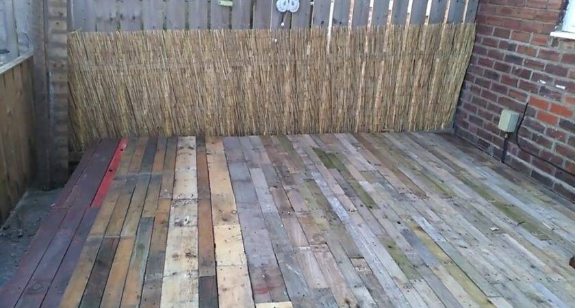 Make Deck Pallets Youtube