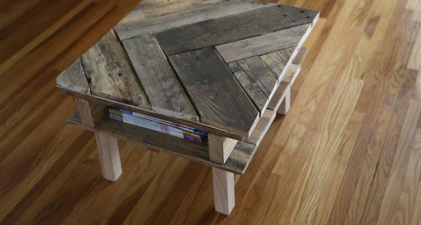 Make Diy Pallet Coffee Table Under