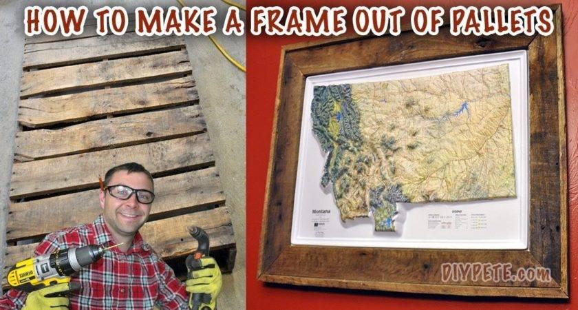 Make Frame Out Pallet Map