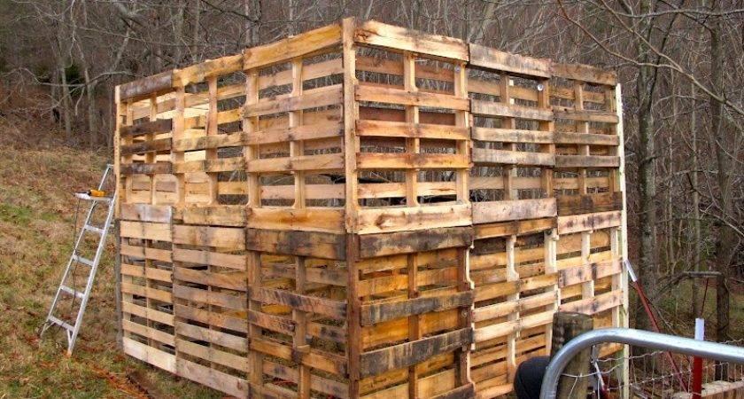 Make Goat Barn Pallets Owner Builder