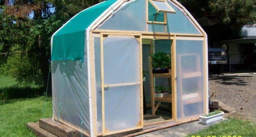 Make Greenhouse Old Carport Steps