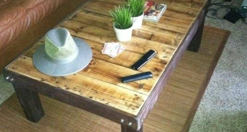 Make Inexpensive Coffee Stained Wood Pallet