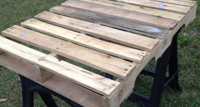 Make Pallet Coffee Table Homestretch Moving