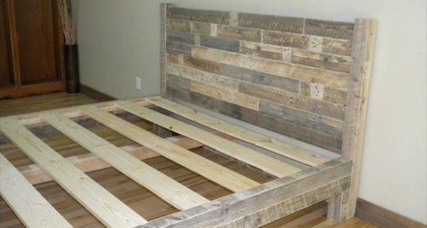 Make Platform Bed Pallets