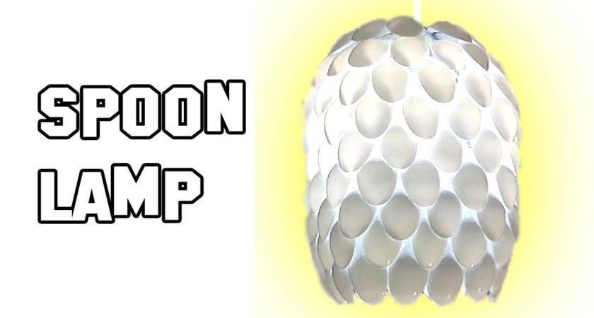 Make Spoon Lamp Diy Homemade Experiment Youtube