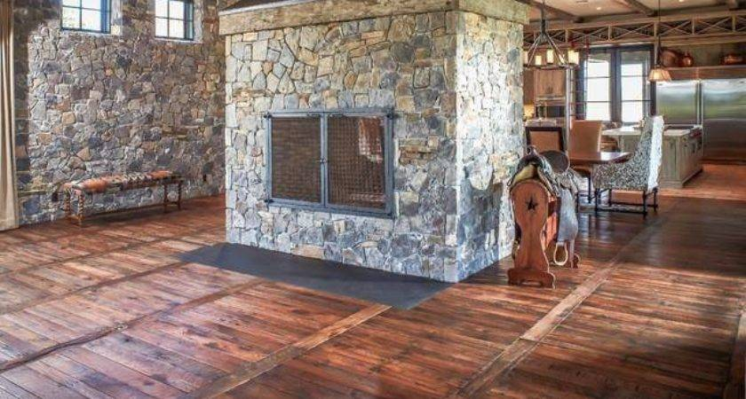 Make Your Own Hardwood Floor Entirely Out Pallets