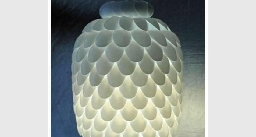 Making Plastic Spoon Lamp Surprising Result