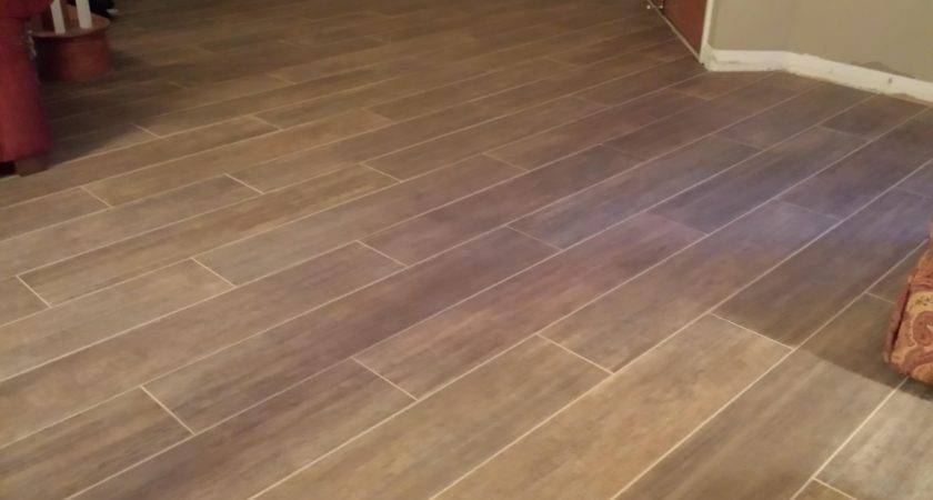 Making Wood Look Tile Home Redesign