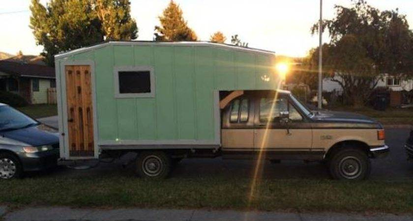 Man Makes Diy Truck Camper Wood Stove Himself