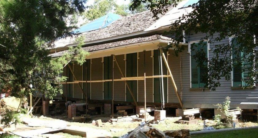 Manship House Prepared Releveling