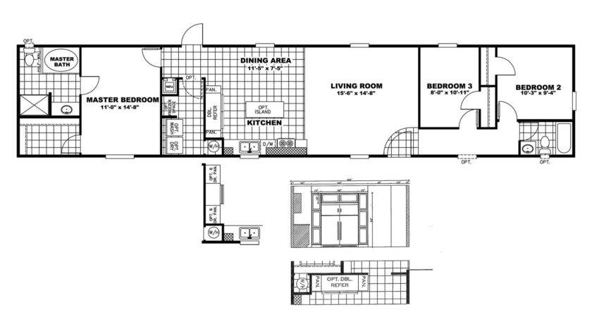 Manufactured Home Floor Plan Clayton Price Buster