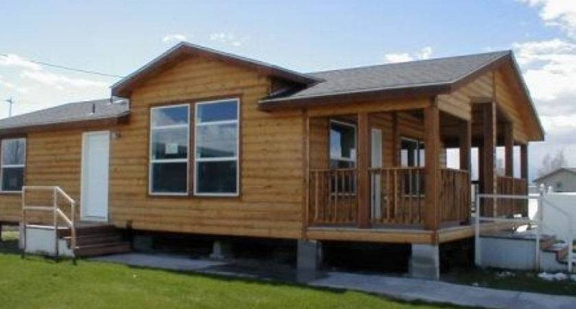 Manufactured Homes Log Siding Mobile Now