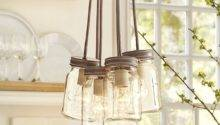 Mason Jar Pendant Light Pottery Barn Lighting Ideas