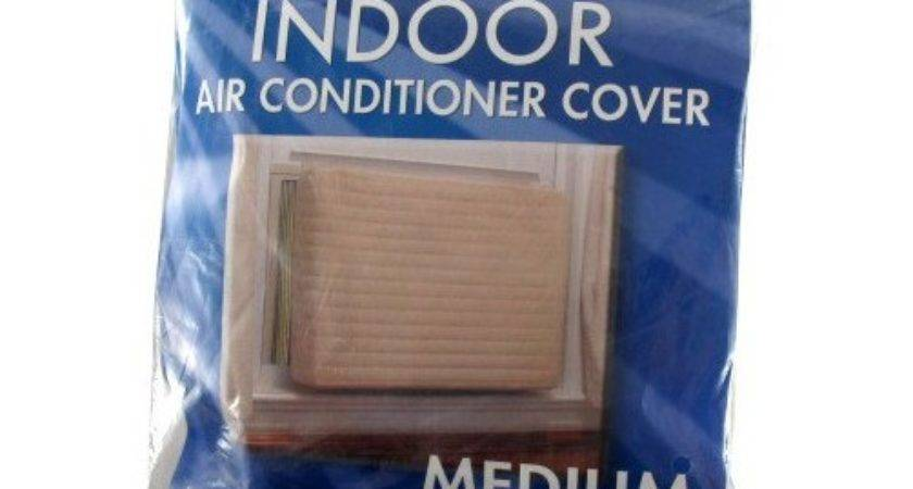 Medium Indoor Quilted Air Conditioner Cover Fits