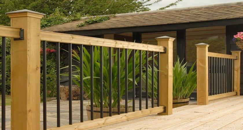 Metal Deck Railing Kits Ideas