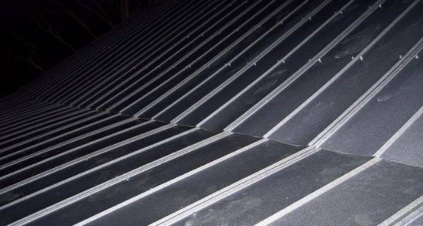 Metal Roof Installing Plywood
