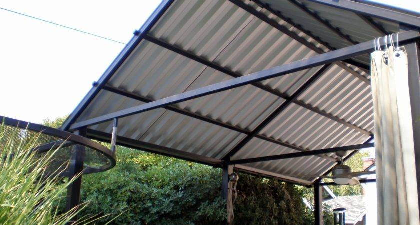 Metal Roof Over Screened Porch