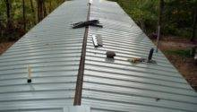 Metal Roof Put Mobile Home