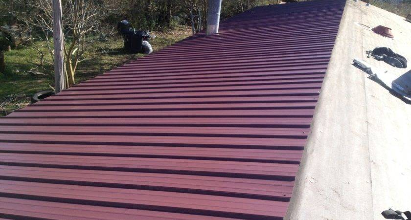 Metal Roof System Mobile Homes