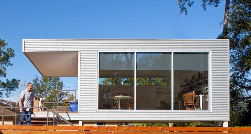 Mid Century Modern Prefab Addition Home Remodeling