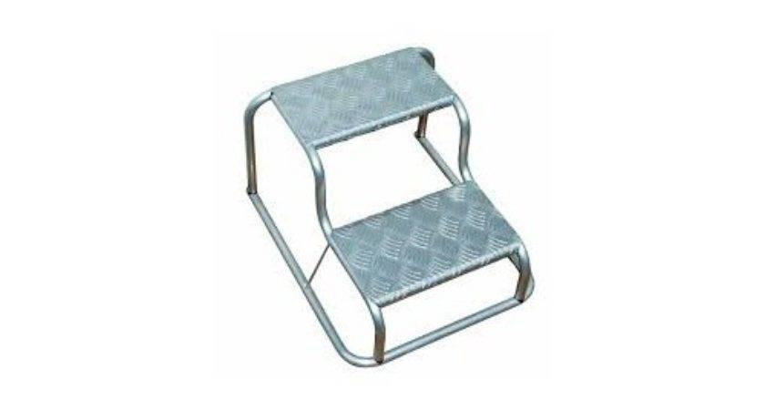 Milenco Double Aluminium Portable Step
